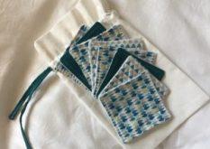 Lingettes démaquillantes lavables, faites maison. zéro-déchet presque gratuit
